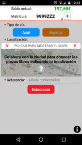 Uso de las plazas libres colaborativas en la aplicación de zona azul de Zaragoza