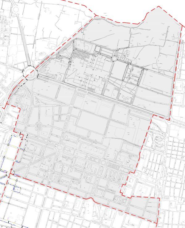 Plano zona azul Valencia distrito Algiros