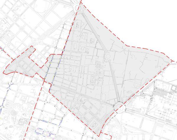 Plano zona azul Valencia distrito Benimaclet