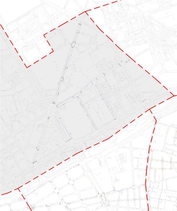 Plano zona azul Valencia distrito Campanar