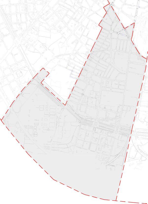 Plano zona azul Valencia distrito Jesús