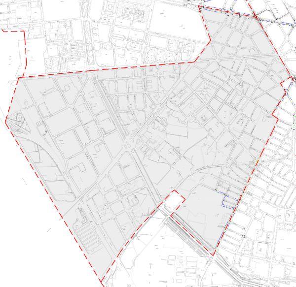 Plano zona azul Valencia distrito Patraix