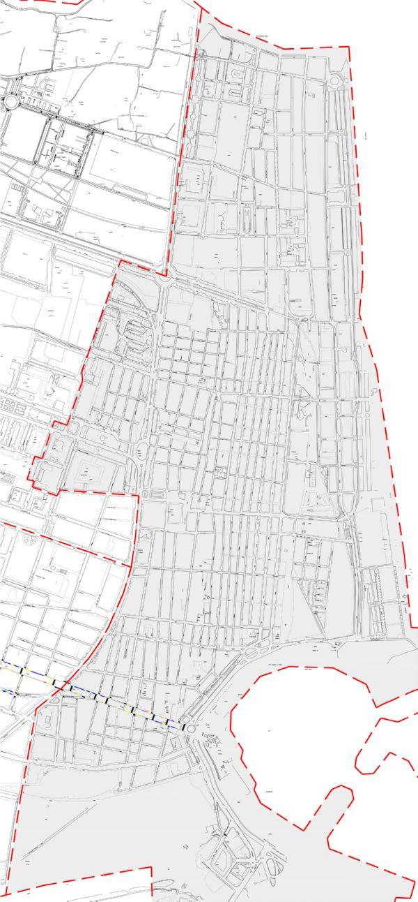 Plano zona azul Valencia distrito Poblats Marítims